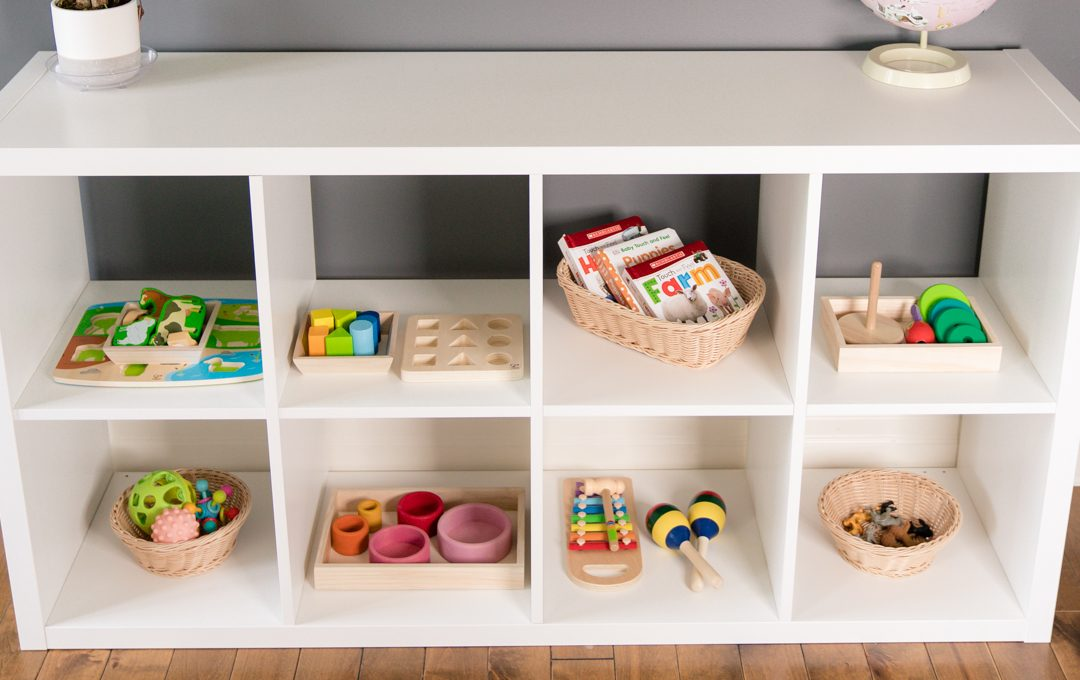 Montessori Shelf Overview