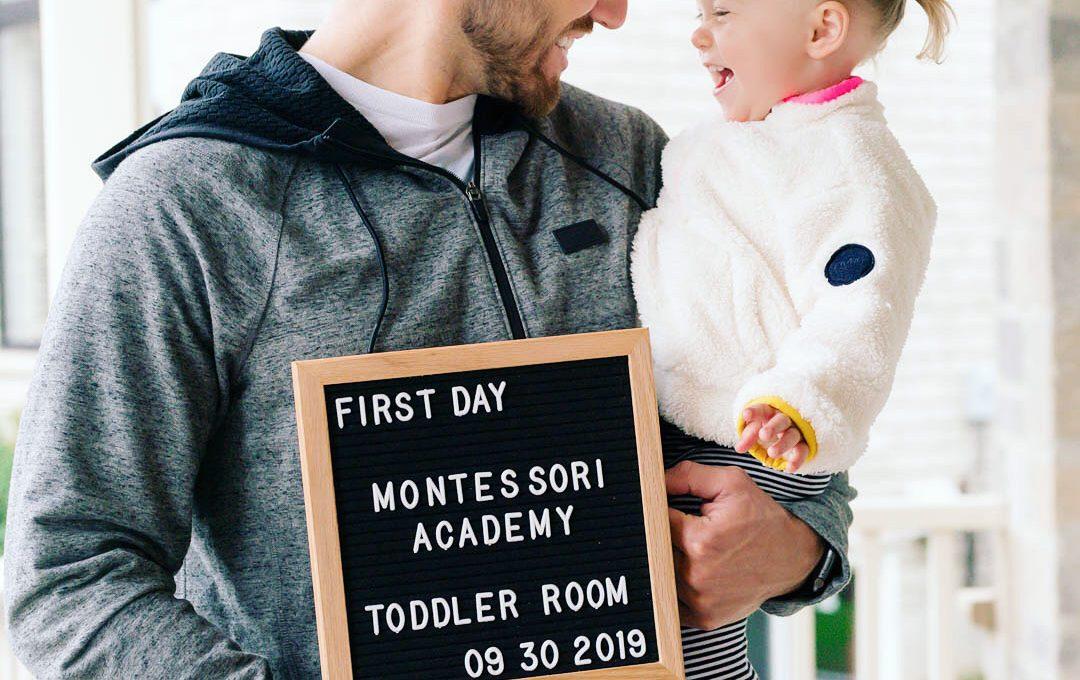 Montessori toddler class
