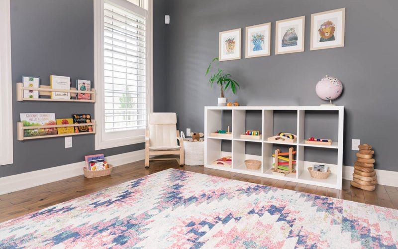 Montessori Playroom At Home