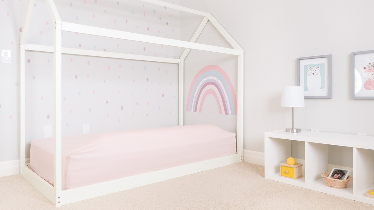 Montessori Toddler Bedroom Tour Montessori Floor Bed Bedroom Ideas