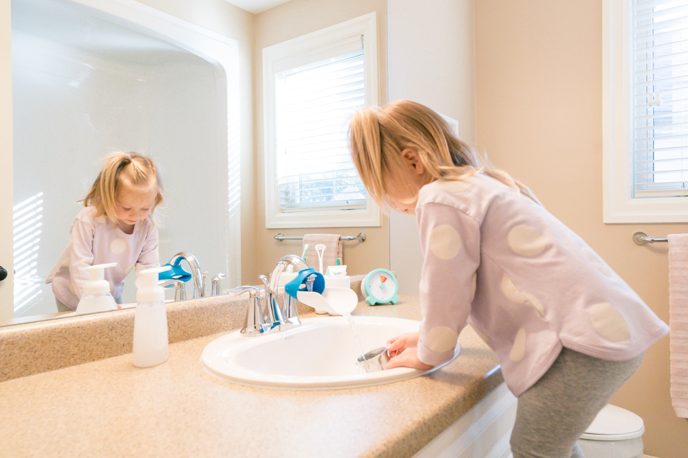 Montessori Bathroom
